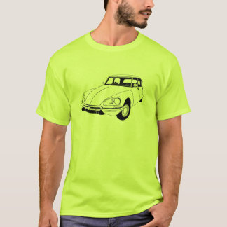 Inspirierter T - Shirt Citroen DS