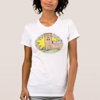 Inspirierter T - Shirt des Tarots, der 'das Castle