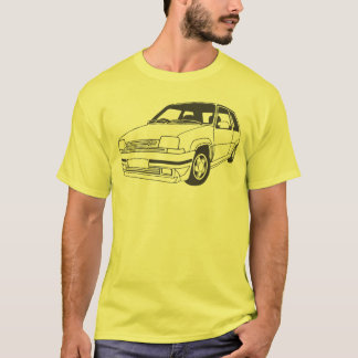 Inspirierter T - Shirt Renaults 5 GT Turbo