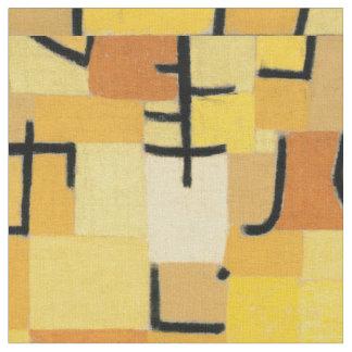 "Inspiriertes Gewebe ""gelber Baum-"" Pauls Klee Stoff"