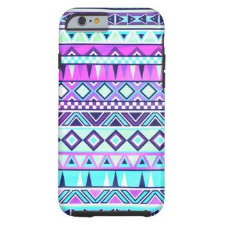 Inspiriertes Muster des Azteken Tough iPhone 6 Hülle