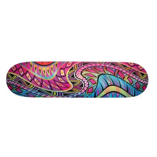 Inspiriertes Muster des Azteken Personalisiertes Skateboard