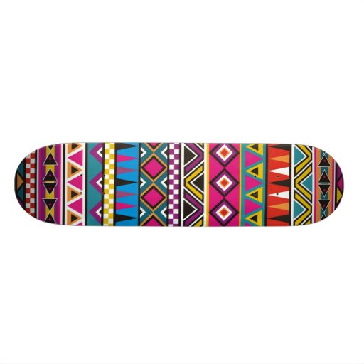 Inspiriertes Muster des Azteken Individuelle Skateboarddecks