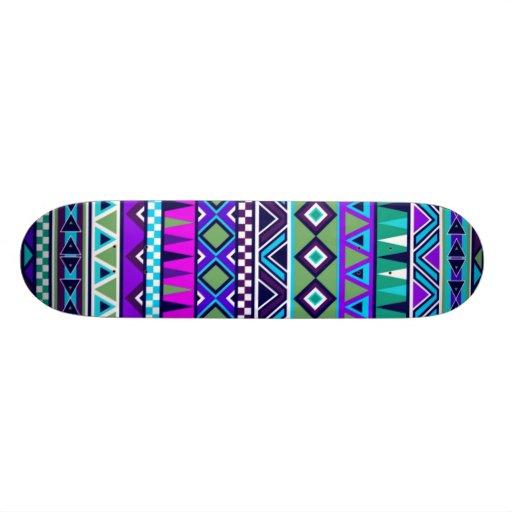 Inspiriertes Muster des Azteken Personalisierte Skateboards