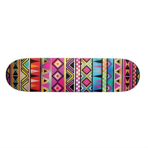 Inspiriertes Muster des Azteken Individuelles Deck