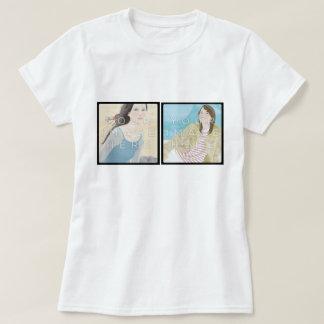 Instagram 2 T-Stück der Foto-das personalisierte T-Shirt