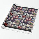 Instagram Foto-Collage - 16 Ihres Liebling pics Einpackpapier