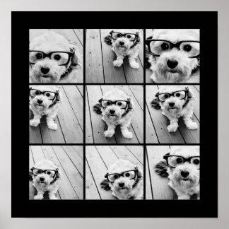 Instagram Foto-Collage mit 9 Fotos