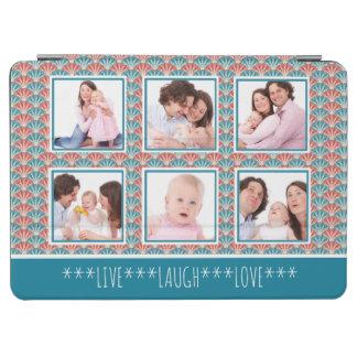 Instagram Foto-Collagen-dekoratives Muster iPad Air Hülle