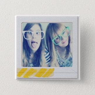 instagram Fotoknopf Quadratischer Button 5,1 Cm