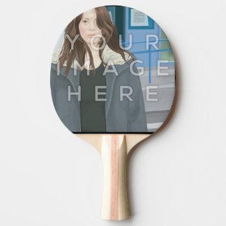 Instagram Fotopersonalisiertes Ping Pong Paddel Tischtennis Schläger