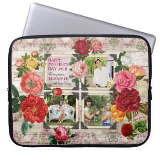 Instagram Rosen der Mutter TagesVintage Laptop Sleeve