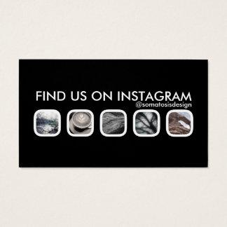 instagram Vernetzung Visitenkarte