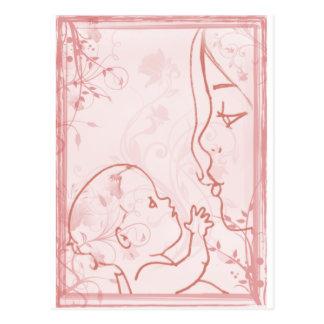 Instinkt - wenig Liebe-Kunst Postkarte