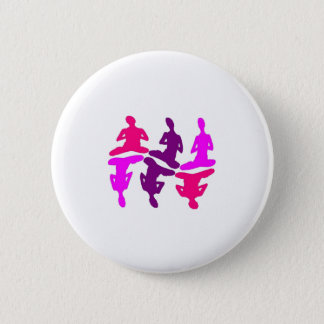 Instinktives Verhalten Runder Button 5,1 Cm