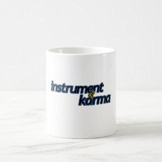 Instrument des Karmas Kaffeetasse