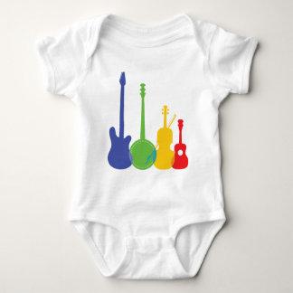 Instrument-Farbe Baby Strampler