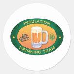 Insulation Drinking Team Sticker