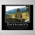 Integrität Plakat