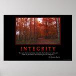 Integrität Poster