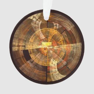 Integritäts-abstrakter Kunst-Acryl-Kreis Ornament