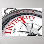 Integritäts-Plakat