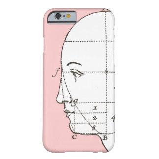 Intellektueller philosophischer menschlicher Kopf Barely There iPhone 6 Hülle