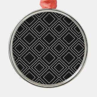 Intelligente Kunst Silbernes Ornament