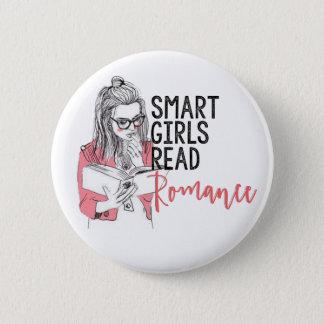 Intelligente Mädchen lasen Romance Kreis-Knopf Runder Button 5,1 Cm
