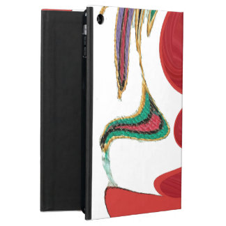 Intelligente rote iPad Air Fall-Abdeckungen