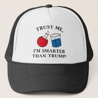 Intelligenter als Trumpf Truckerkappe