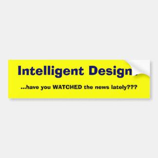 Intelligenter Entwurf Autoaufkleber