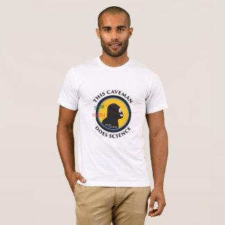 Intelligenter Gang-Wissenschafts-Höhlenbewohner T-Shirt
