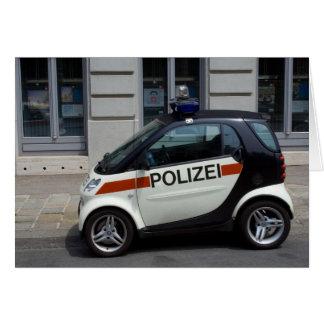 intelligenter Polizeiwagen Karte