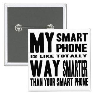 Intelligenteres intelligentes Telefon Quadratischer Button 5,1 Cm