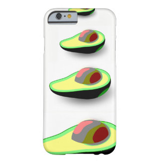 Intelligentes Avocadomuster veganer Fall iPhone6 Barely There iPhone 6 Hülle