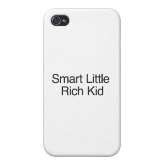Intelligentes kleines reiches Kind Schutzhülle Fürs iPhone 4