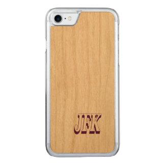 Intelligentes Telefon im Holz Carved iPhone 8/7 Hülle