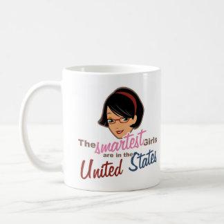 Intelligenteste Mädchen in USA Kaffeetasse
