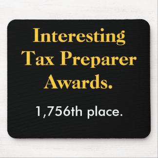 Interessante Steuer-Vorbereiter-Preise - Parodie-P Mousepads