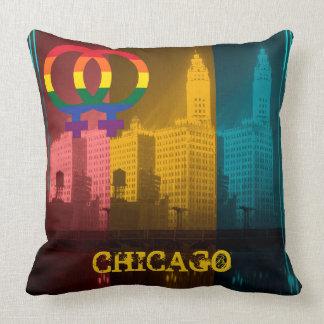 Interessen-Wrigley Gbd Chicagos homosexuelle Kissen