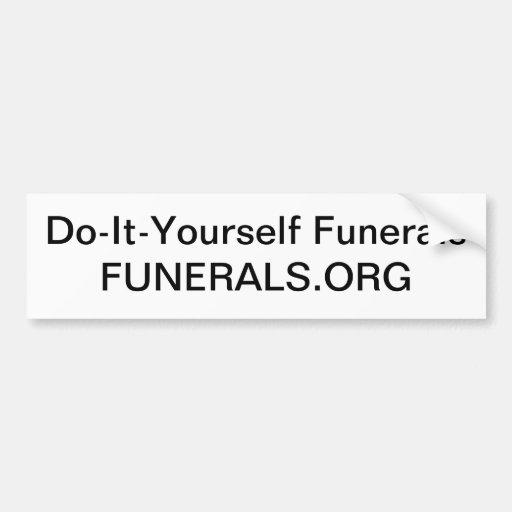Interessieren Sie sich für Ihre eigenen Toten ohne Autoaufkleber