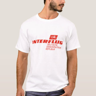 Interflug Fluglinien T-Shirt