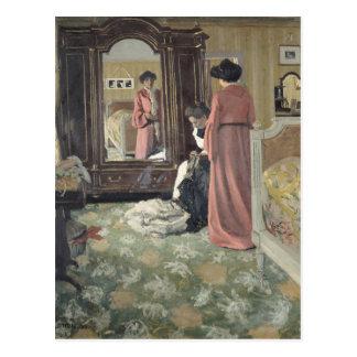 Interior, 1904 postkarte
