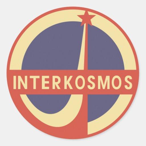 Interkosmos Stickers
