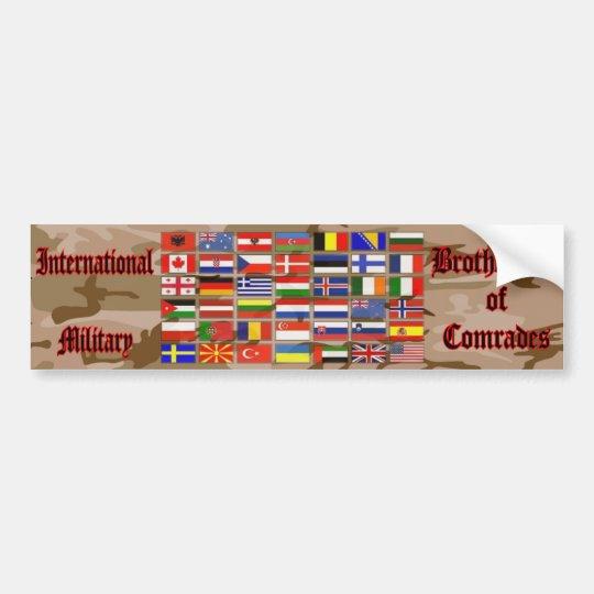 International Military Autoaufkleber