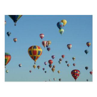 Internationale Ballon-Fiesta-Postkarte Postkarte