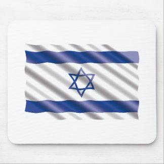 Internationale Flagge Israel Mousepad