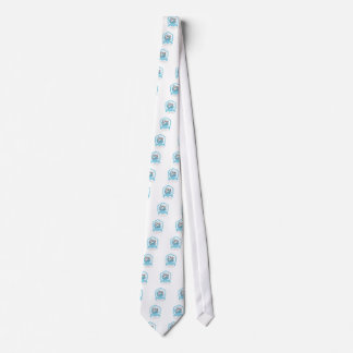 Internationale Friedenstagesaufkleber-Entwürfe Krawatte