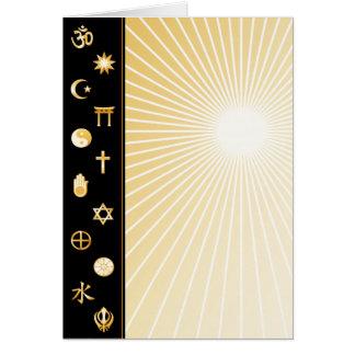 Internationale Glauben Karte